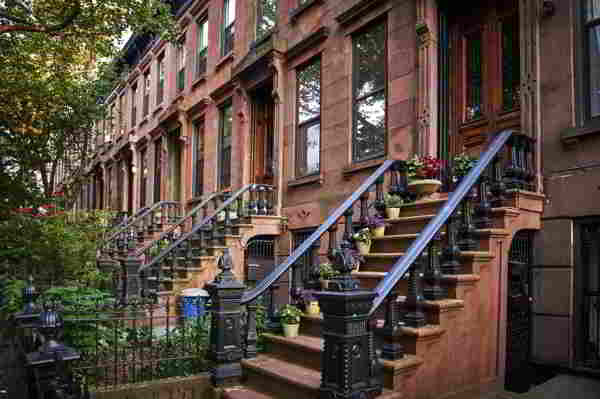 Brownstone Buildings in Brooklyn